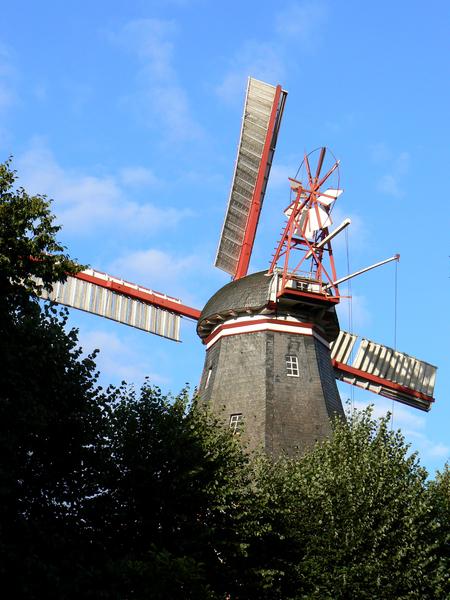 herdentorswallmühle, w:, brema - 3772425