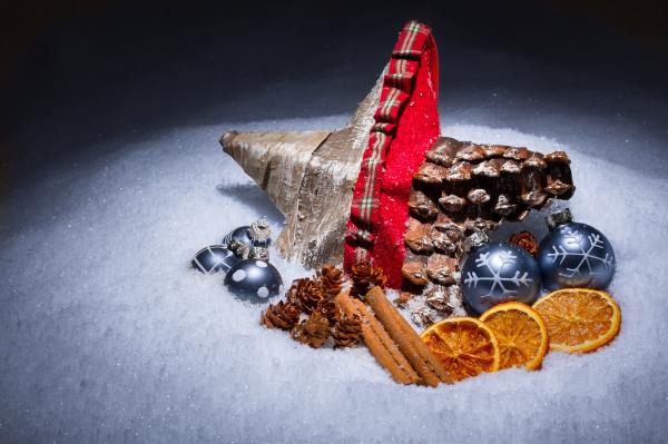 upominek podarek deko snieg gwiazda prezenty