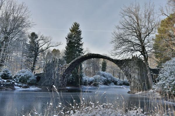 rakotzbuecke w zimie