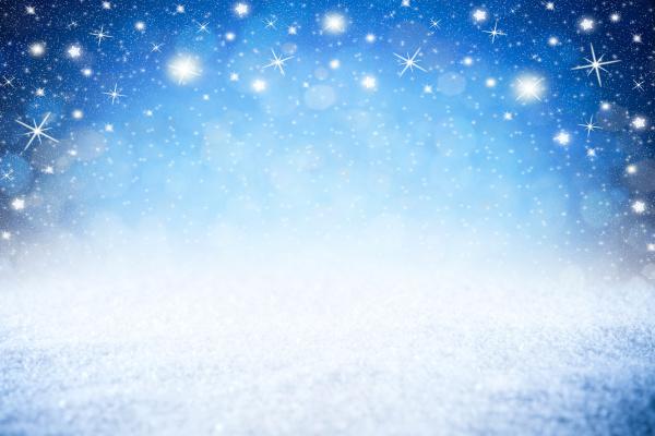 puste niebieskie gwiazdy nocne niebo zimowe