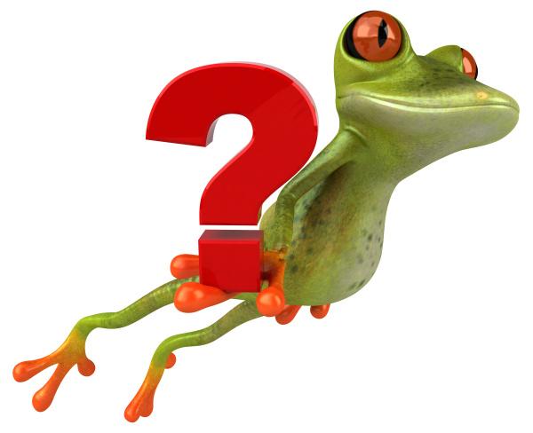 zabawna, żaba, , , ilustracja, 3d - 28217376