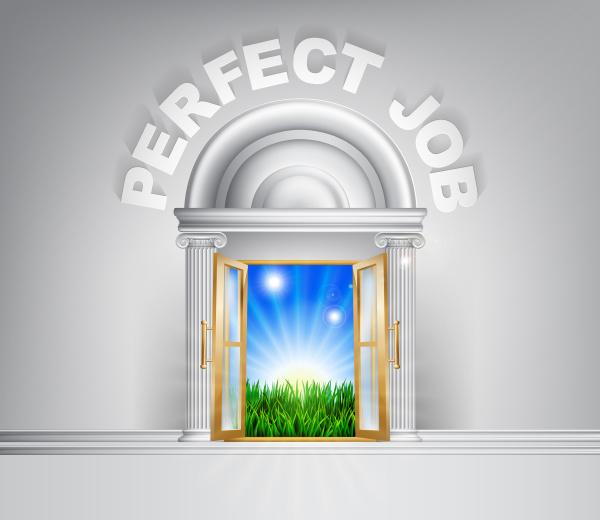 drzwi do idealnej pracy