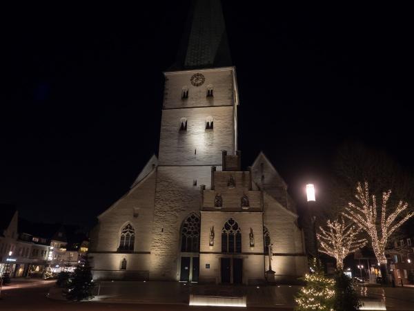 boże, narodzenie, w, niemieckim, muensterland - 29169383
