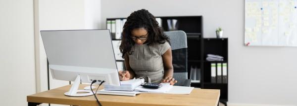 african, american, accounting, doradca, kobieta - 29422748