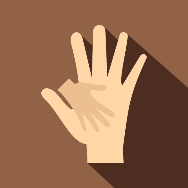 ikona, dłoni, dziecka, w, dłoni, matki - 30280457