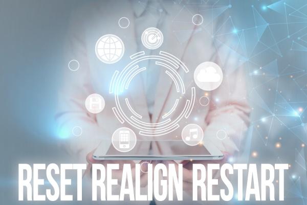 inspiration, showing, sign, reset, realign, restart. - 30805179