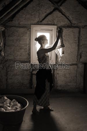 kobieta womane baba gospodyni domowa brud
