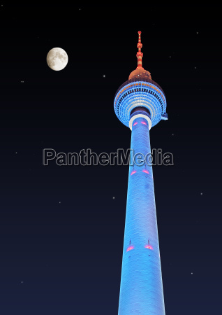 berlin tv tower w alex