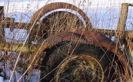 gospodarstwo rolnictwo pojazd ruszt zlom muslin