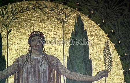 sztuka antyk obraz monachium innenstadt mozaika