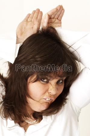 kobieta womane baba shut zamykac smiech