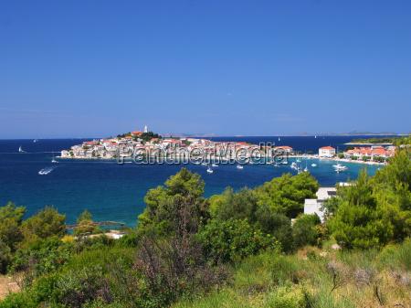 niebieski miasto grod town urlop urlop