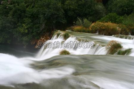 park narodowy wodospad filtr chorwacja wodospady