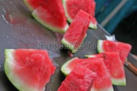zielony orzezwienie owoc owoce owocowe melon