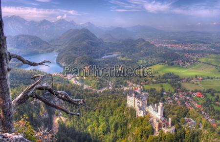 wieza gora anhoehe wzgorze gory romantyczny