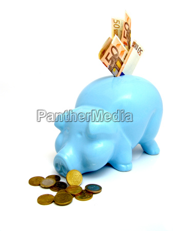 lawka bank niebieski konsumpcja euro waluta