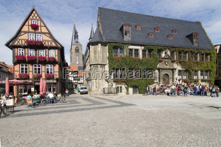 quedlinburg plac ratuszowy