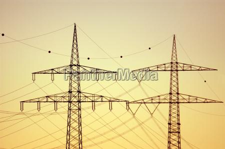pylony elektrycznosci