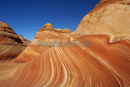 usa skaly skala ameryka fala piaskowiec