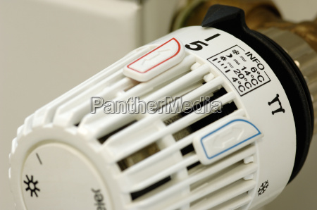 heating thermostat with setting info