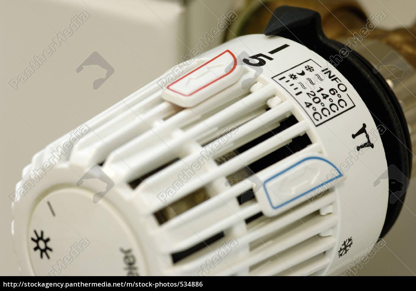 termostat, grzewczy, z, ustawieniem, info - 534886