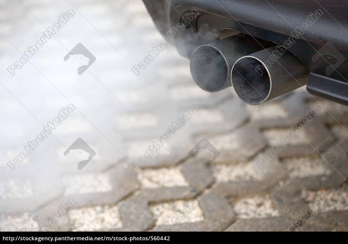 efekt, cieplarniany, i, samochód - 560442