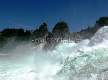 sily natury ren szwajcaria turystycznych turysci
