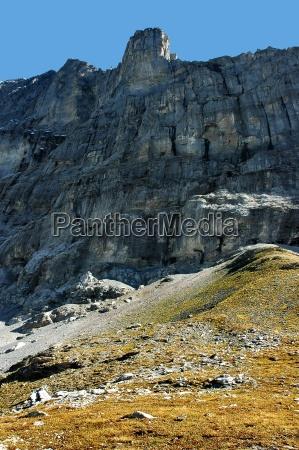 gory europa szwajcaria skaly skala stromo
