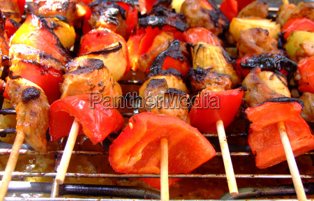 lato letni smak cebula papryka grillowanie