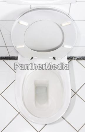 biała, toaleta, bowl - 733336