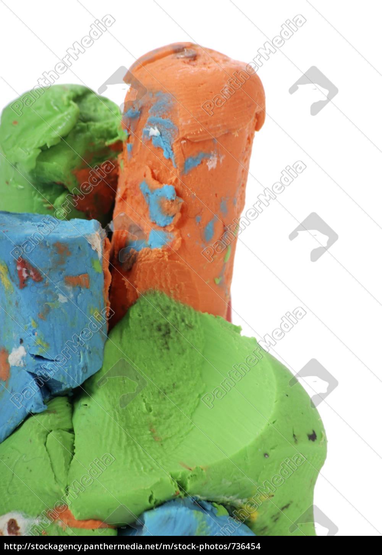 kolorowa, masa, kolana - 736454