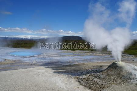 eerie wulkany islandia hydro sila naturgewalten