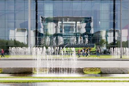 reflection berlin plot fasada styl budowy