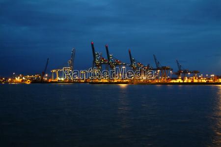 porty, w, rotterdamie - 992835