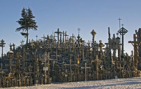 wierzyc litwa pielgrzymka gora krzyze krzyzy