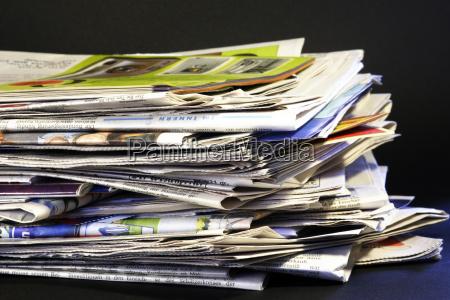 gazeta tageblatt stos reklama kontroli altpapier