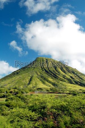 zielona gora na hawajach