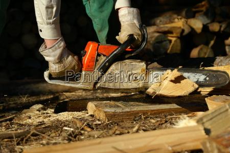 drewno drewna pila lancuchowa powiedziec pila
