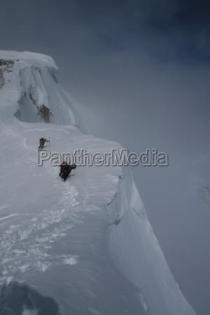 sport sporty eerie wysilek schitour wildspitze