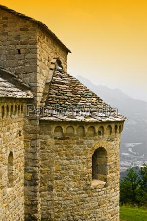 ancient church on mountain