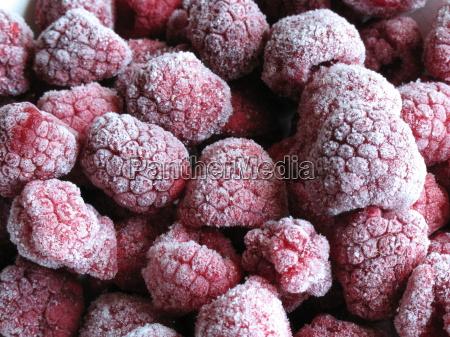 lod frozen mrozone jagody krysztalow krysztaly