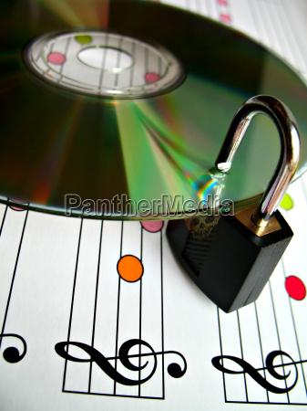 muzyka szyba cyfrowe ochrony chronic blokada