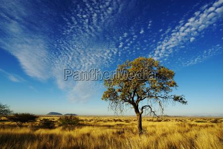 niebo nad namibii