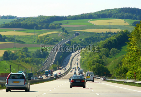 autostrady i kolej