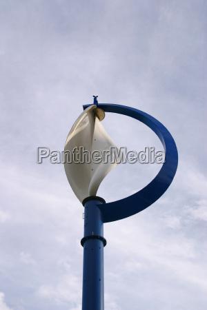 pionowa drada wiatrowa