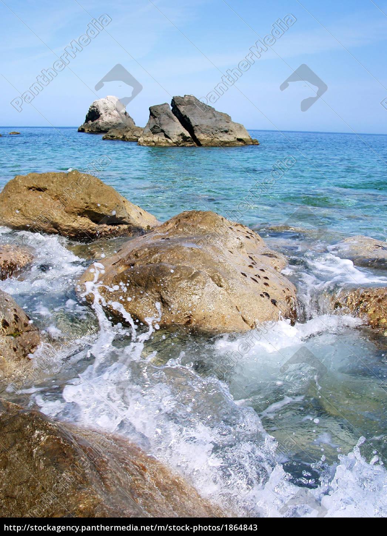 rock, beach - 1864843