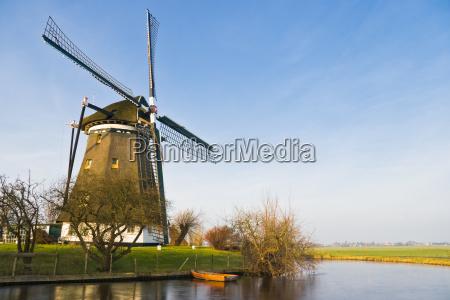 niebieski przyroda srodowisko zima zimowy holandia