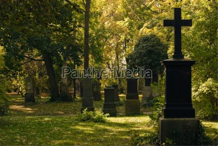 cmentarz z krzyzami