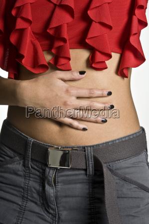 kobieta womane baba reka jeansy pant