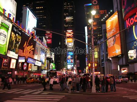 noc nocy swiatla times reklama reklamowa